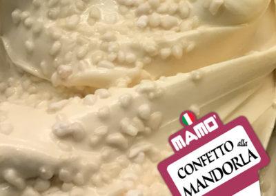 Gelateria Mamo' - Gelato Gusto Confetto alla Mandorla
