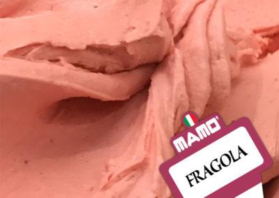 Gelateria Mamo' - Gelato Gusto Fragola