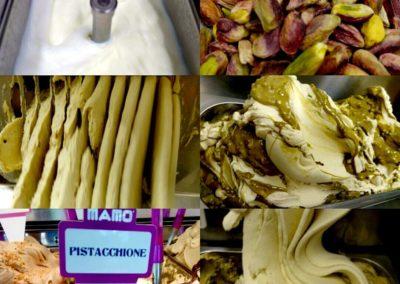 Gelateria Mamo' - Gusto Pistacchione - Il gelato a Roma