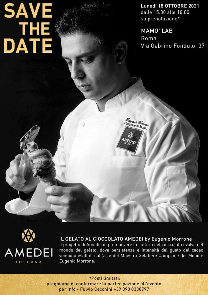 Mamò Lab - Evento - Il gelato al cioccolato Amedei - 18-10-2021